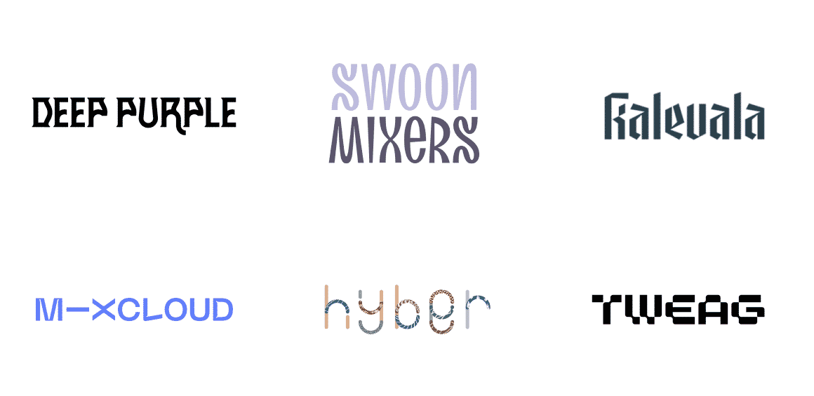 Logo Design Trends 2021 - Non-Trivial Fonts