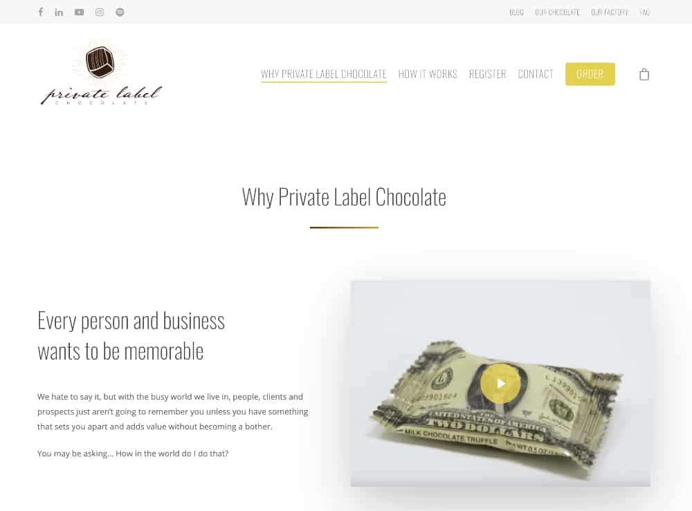 Private label chocolate manufacturers