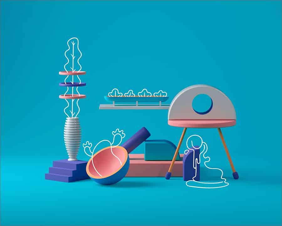 2021 UX/UI Trends - 3D Development
