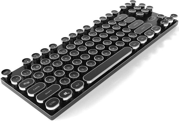 ARTIX Typewriter Style Backlit Keyboard