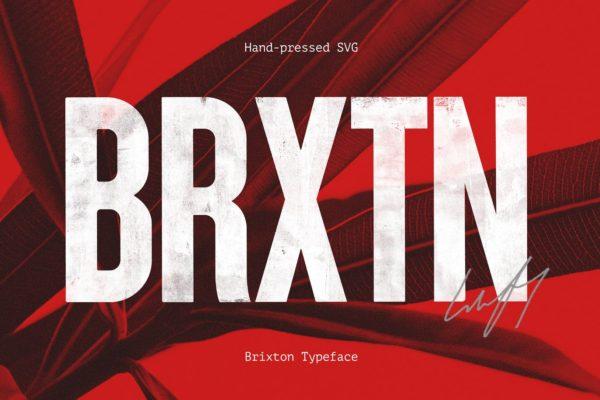 Brixton SVG