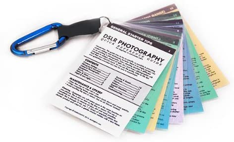 Canon DSLR Cheat Sheets Tip Cards