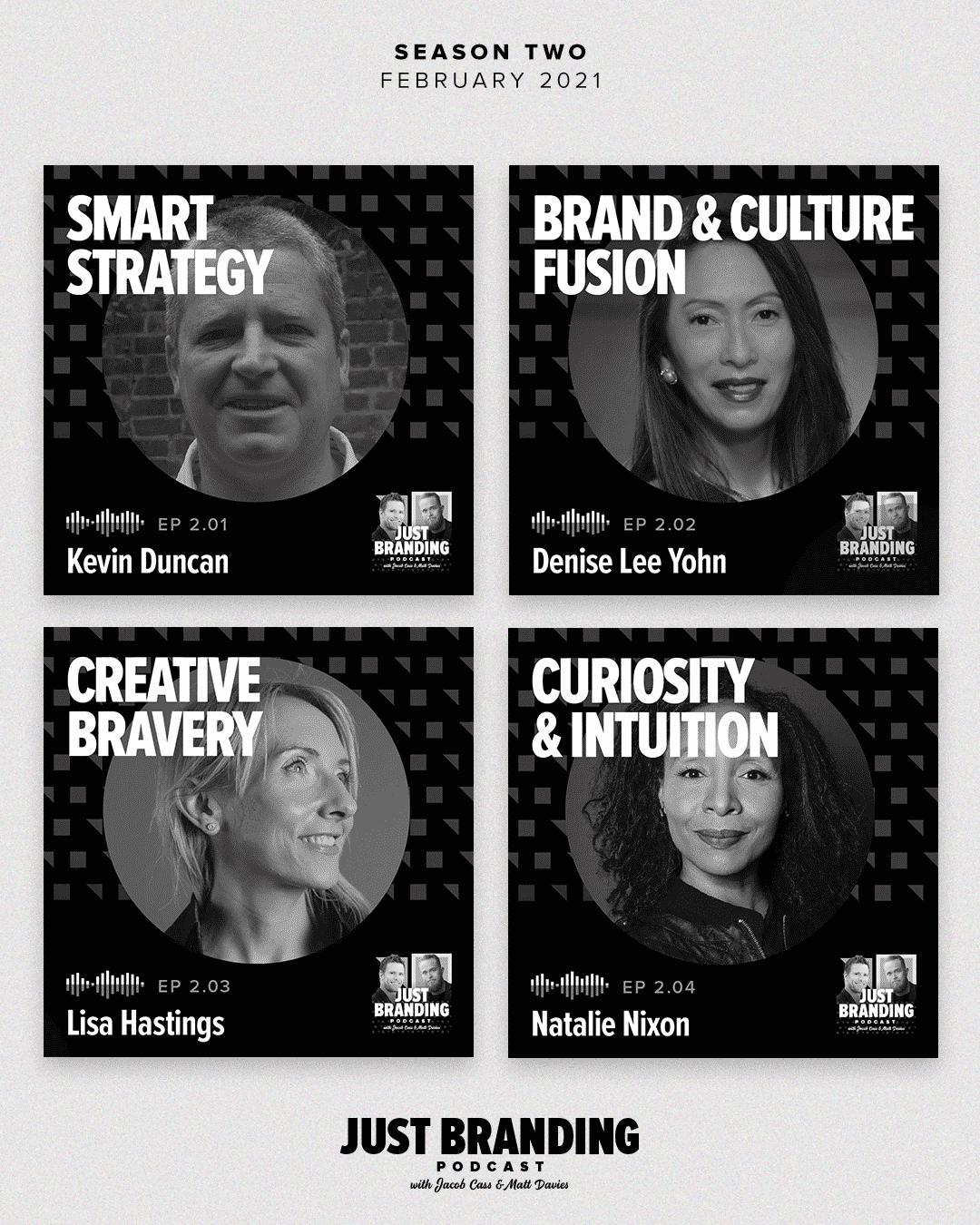JUST Branding Podcast Season 2