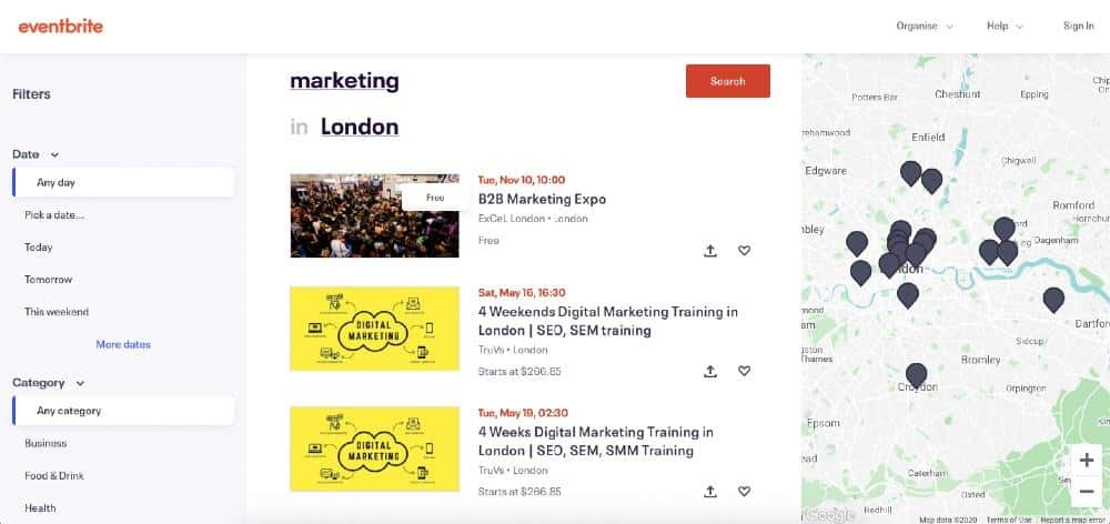 Finding popular webinar topics