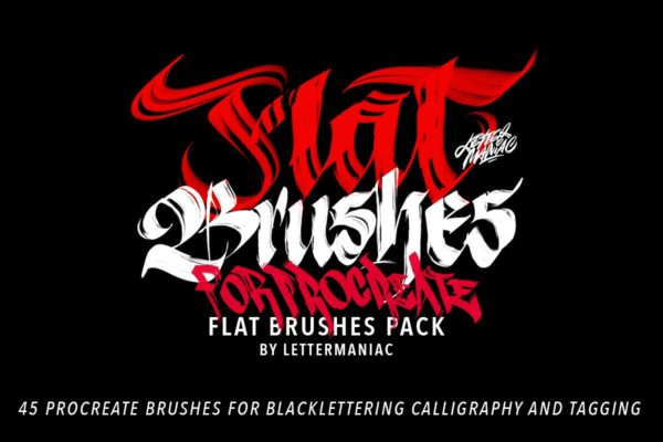 Blackletter Brushes for Procreate
