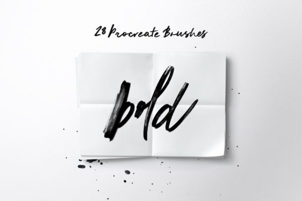 Bold Calligraphy for Procreate