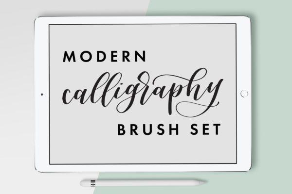 Calligraphy Procreate Brush Set
