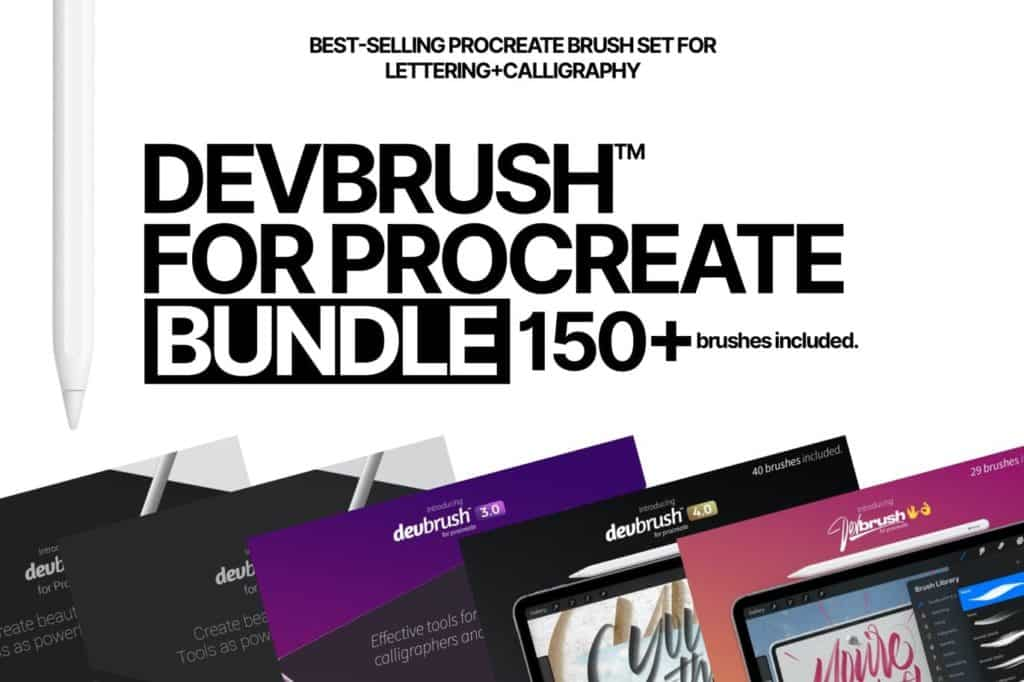 DEVBRUSH FOR PROCREATE BUNDLE