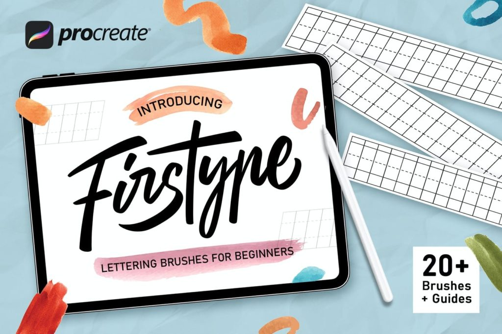 Firstype - Procreate Lettering Brushes