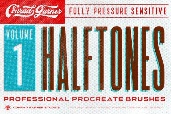 HALFTONE Brushes - Procreate