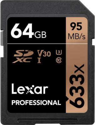 Lexar Professional 633x SDXC UHS-I -