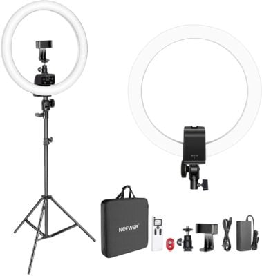 Neewer 16-inch Dimmable Ring Light