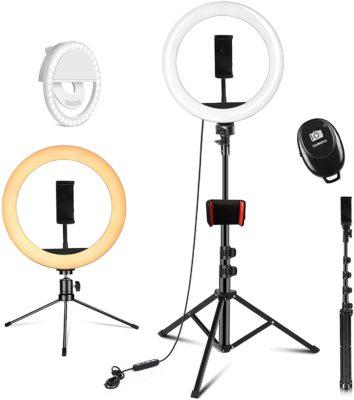 PEHESHE Selfie LED Ring Light