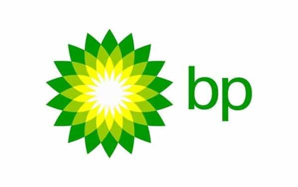 The Golden Ratio in the BP Logo