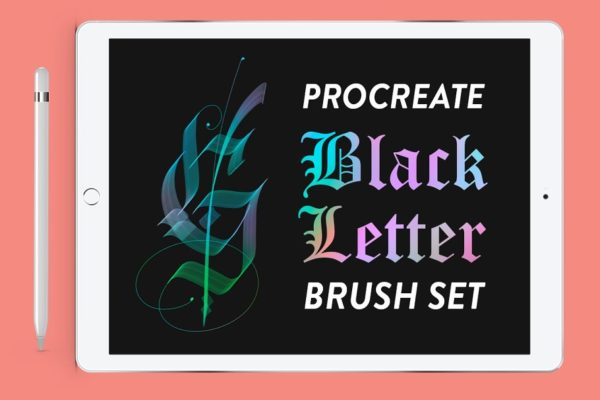 Procreate - Blackletter Brush Set