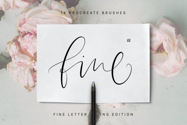 Procreate Fine Calligraphy Brushes