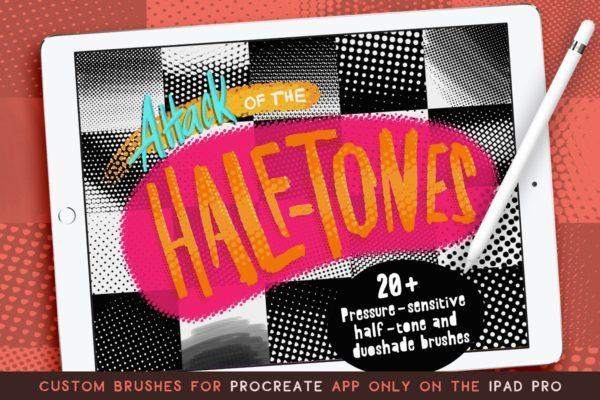 Procreate Half-tones