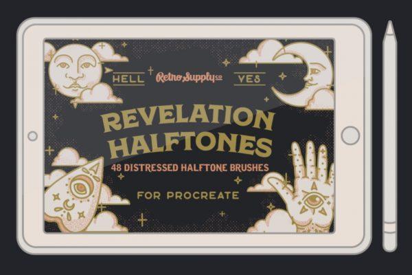 Revelation Halftones for Procreate