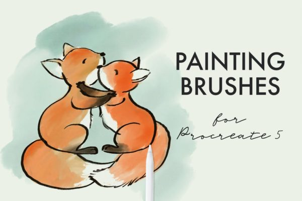 Soft texture brushes for Procreate