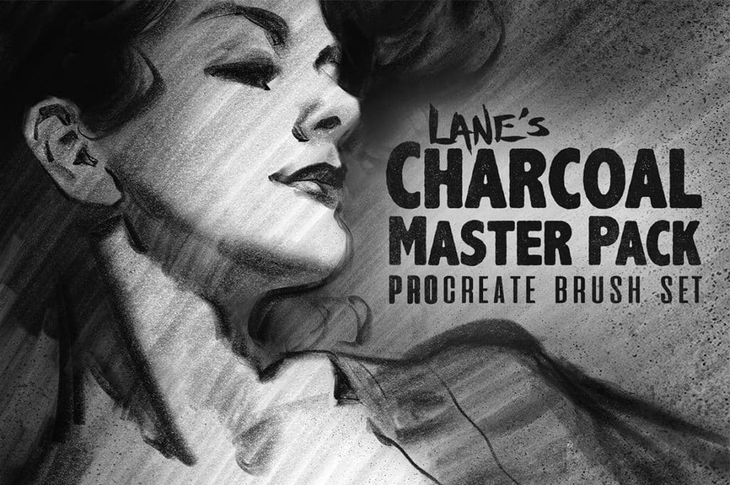The Charcoal Master Pack Procreate Brush Set