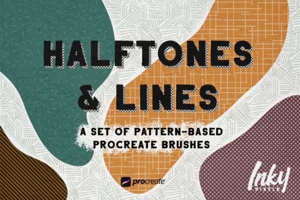 Tones and Lines Procreate Brushes