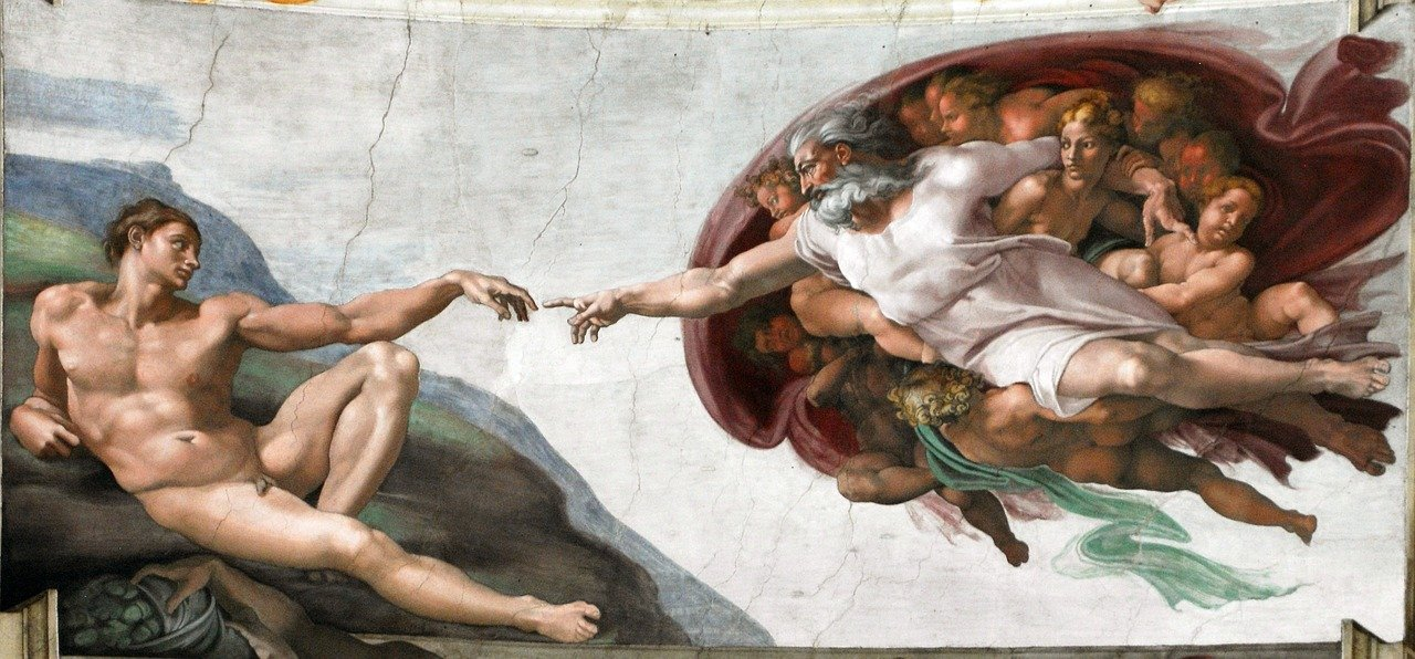 Divine Proportion in The Sistine Chapel Creation of Adam