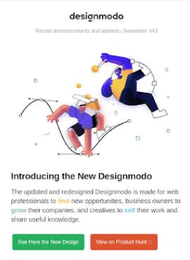3D Images - Email Design Trends 2021
