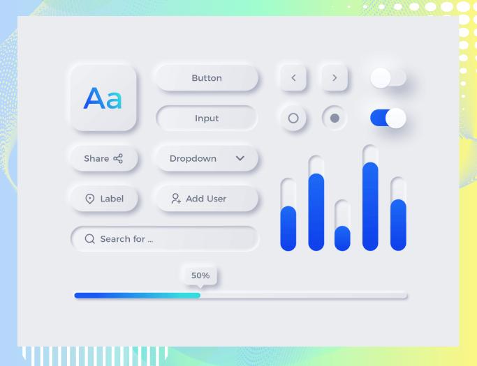 Neumorphism - Email Design Trends 2021