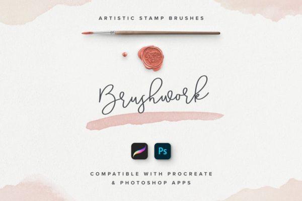 Brushwork Artistic Procreate & Photoshop brushes