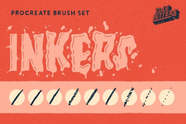 Inkers Procreate Brush Set