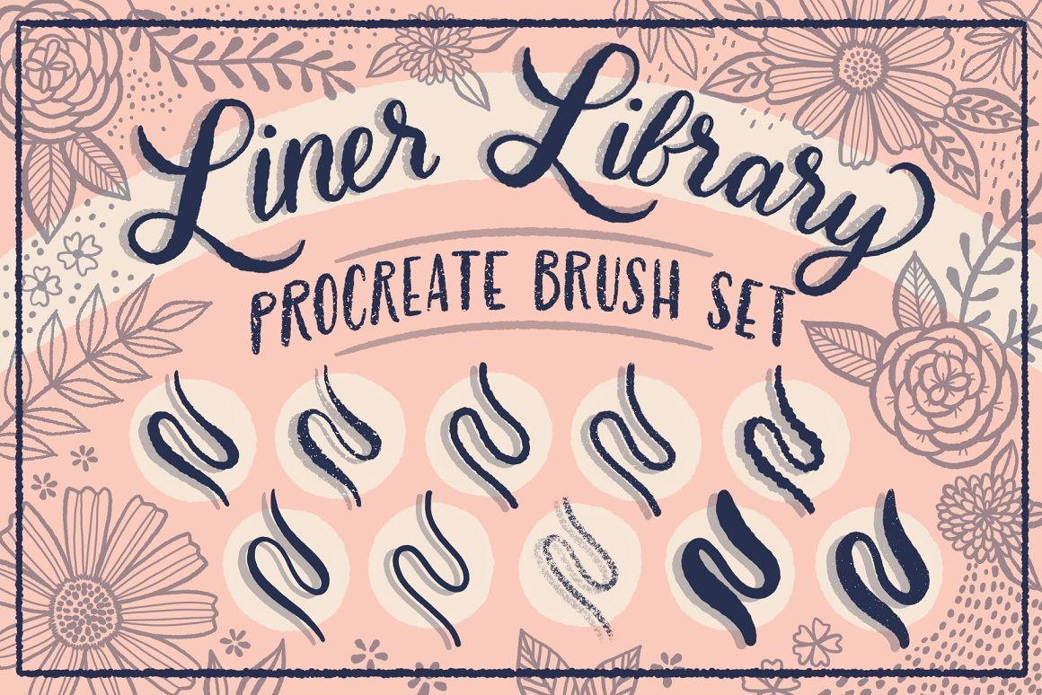 Liner Library Procreate Brush Set
