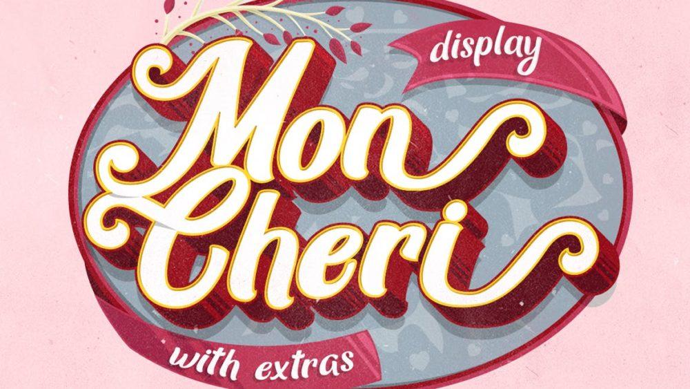 Mon Cheri Typeface