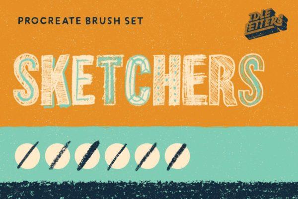 Sketchers Procreate Brush Set