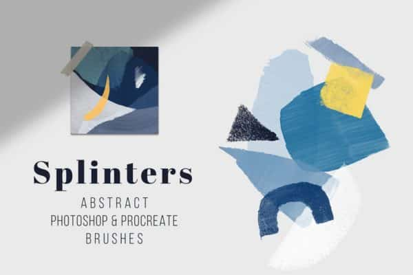 Splinters – Photoshop and Procreate Stamp Brushes