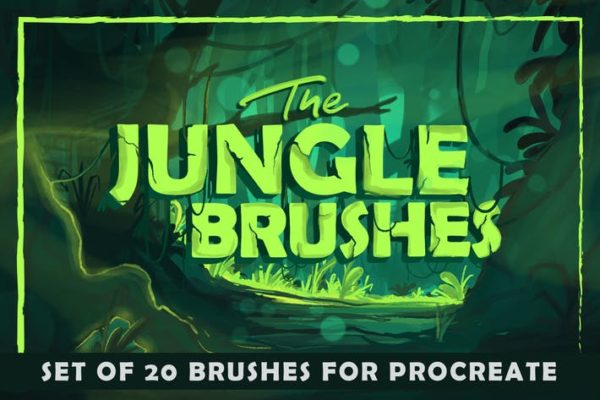 The Jungle - Procreate Brushes
