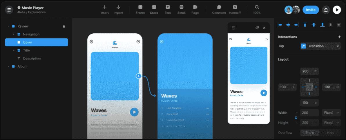 Framer Website Prototyping Tool