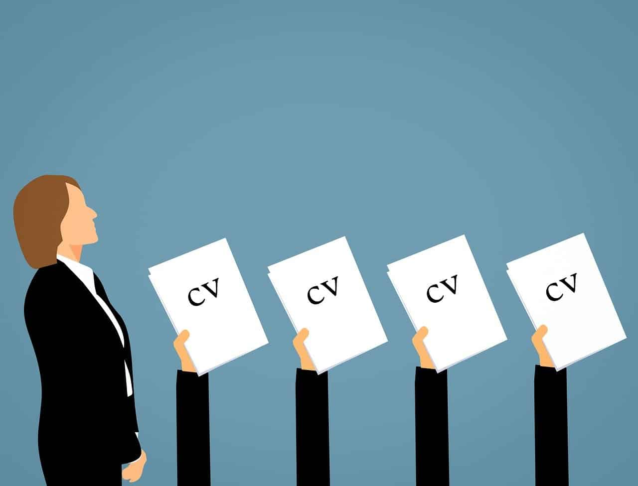 Recruitment process being completed by third party HR firm