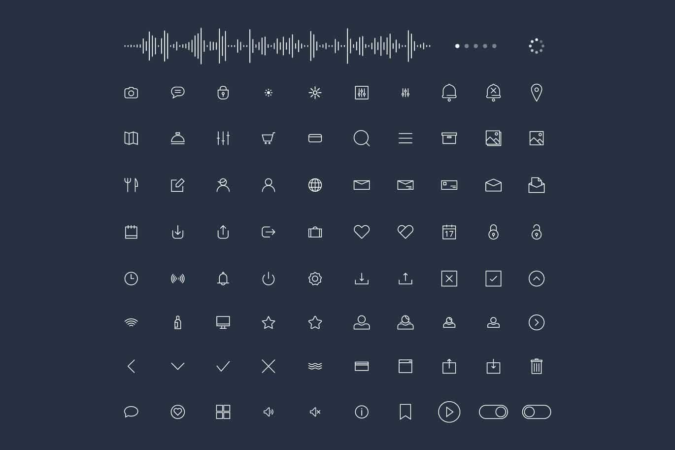 The 20 Best Free Icon Fonts for UI Design | JUST™ Creative