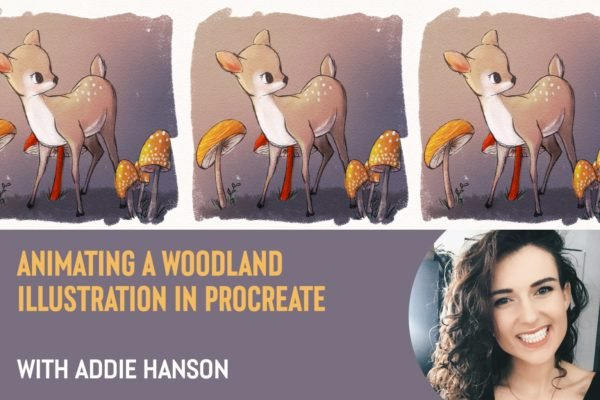 Animating a Woodland Illustration in Procreate