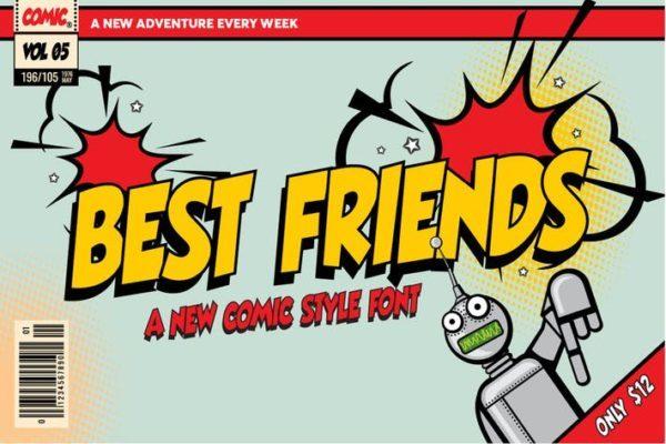 Best Amigos - Comic Font