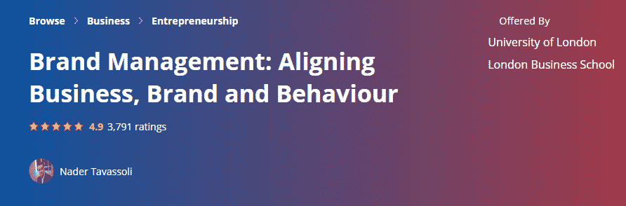 Brand Management Aligning Business, Brand and Behaviour