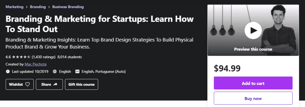 Branding & Marketing for Startups: Learn How To Stand Out