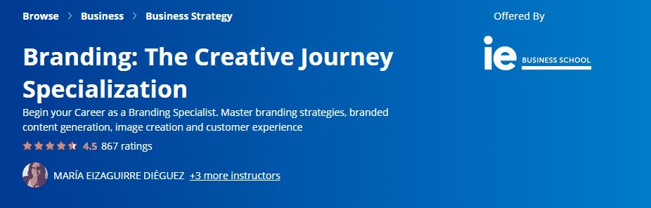 Branding The Creative Journey Specialization