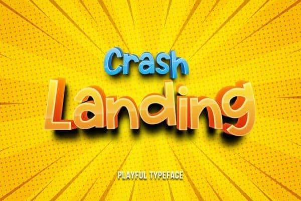 Crash Landing - Playful Fountain