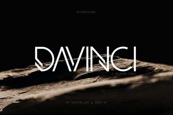 DAVINCI Fonts Modern Sans