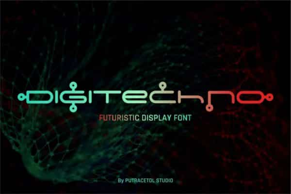 Digitechno Futuristic Display