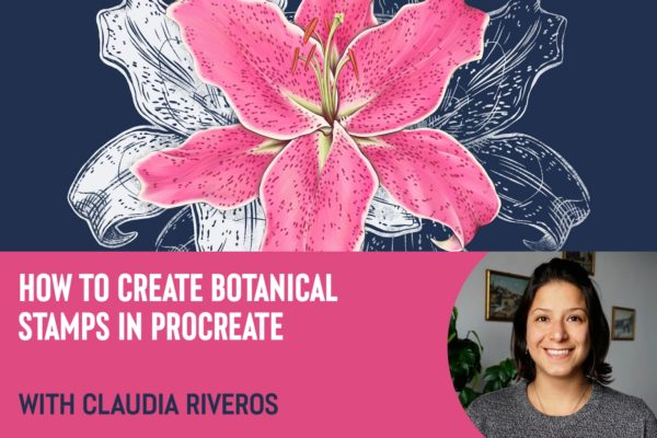 How to Create Botanical Stamps