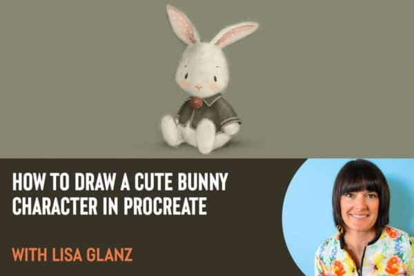 How to Draw a Cute Bunny Character in Procreate