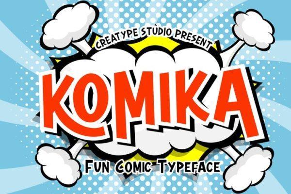 Komika - Comic Typography