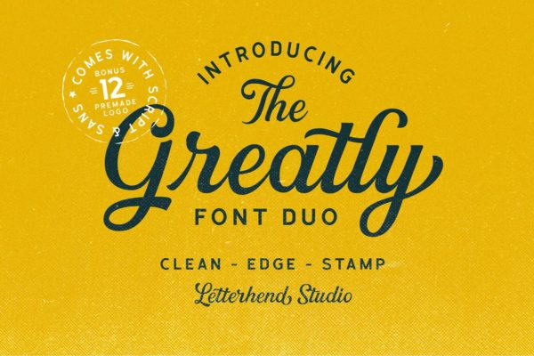 Large Font Duo